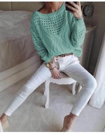 Bluza - cod 6182 - mentă