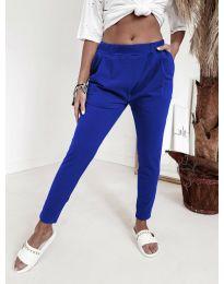 Pantaloni - cod 1904 - cer albastru