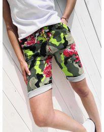 Pantaloni scurți - cod 5077-1 - multicolor