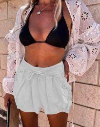 Pantaloni scurți - cod 0320 - 2 - alb