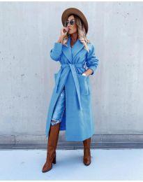 Palton - cod 5877 - cer albastru
