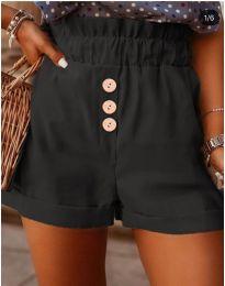Pantaloni scurți - cod 9383 - negru
