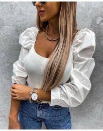 Bluza - cod 4236 - alb