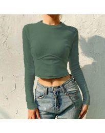 Bluza - cod 1124 - verde unt