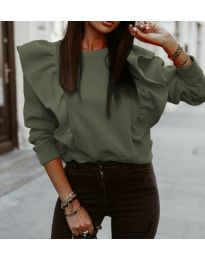 Bluza - cod 3890 - verde