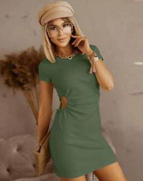 Rochie - cod 8556 - verde unt