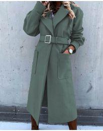 Palton - cod 423 - verde unt