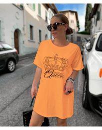Rochie - cod 2525 - portocaliu
