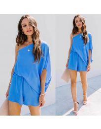 Rochie - cod 9933 - albastru