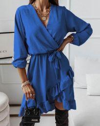 Rochie - cod 5371 - albastru