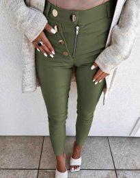 Pantaloni - cod 1874 - verde unt