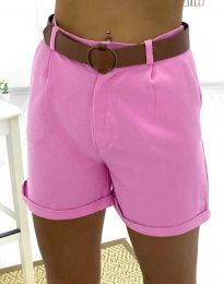 Pantaloni scurți - cod 2236 - 3 - roz