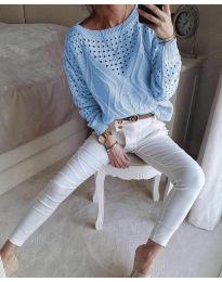 Bluza - cod 6182 - cer albastru