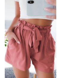 Pantaloni scurți - cod 3637 - piersic