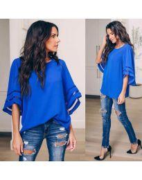 Bluza - cod 3371 - 3 - cer albastru
