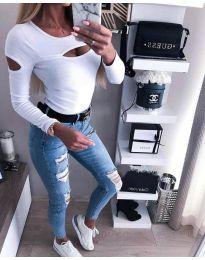 Bluza - cod 3518 - alb