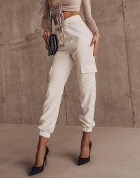 Pantaloni - cod 2985 - alb