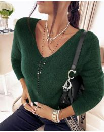 Bluza - cod 8051 - verde unt