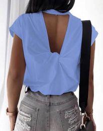 Tricou - cod 4515 - cer albastru