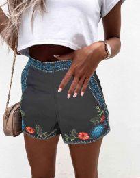 Pantaloni scurți - cod 0955 - 2 - negru