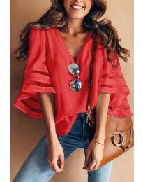 Bluza - cod 3371 - 4 - roșu