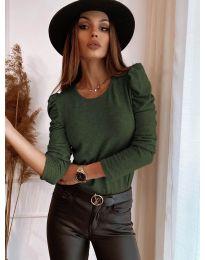 Bluza - cod 9556 - verde