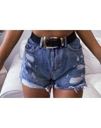 Pantaloni scurți - cod 033 - cer albastru