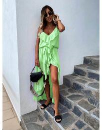 Rochie - cod 0081 - verde neon