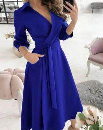 Rochie - cod 2861 - albastru
