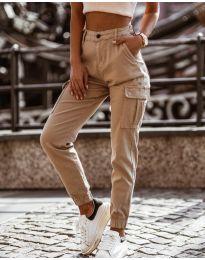 Pantaloni - cod 2192 - 2 - bej