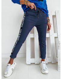 Pantaloni - cod 3062 - albastru închis