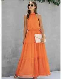 Rochie - cod 8855 - portocaliu