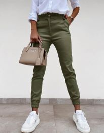 Pantaloni - cod 4464 - verde unt