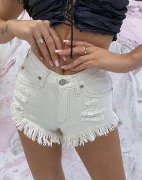 Pantaloni scurți - cod 4548 - 3 - alb