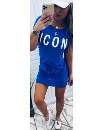 Rochie - cod 9905 - cer albastru