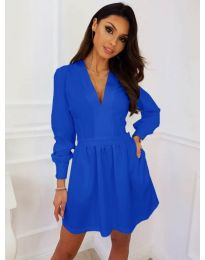 Rochie - cod 089 - albastru
