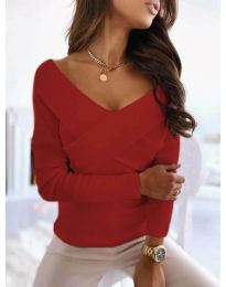 Bluza - cod 0308 - 4 - roșu