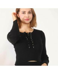 Bluza - cod 6365 - negru