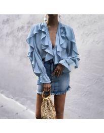 Bluza - cod 9051 - albastru deschis