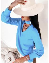 Bluza - cod 2133 albastru deschis