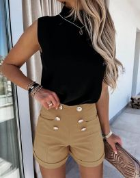 Pantaloni scurți - cod 6815 - maro