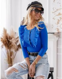 Bluza - cod 9792 - cer albastru