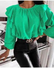 Bluza - cod 4445 - verde