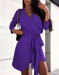 Rochie - cod 2879 - violet închis