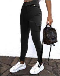 Pantaloni - cod 2528 - 2 - negru