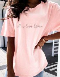 Tricou - cod 36755 - roz