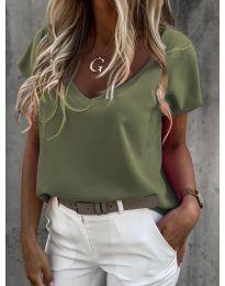 Tricou - cod 0589 - verde unt