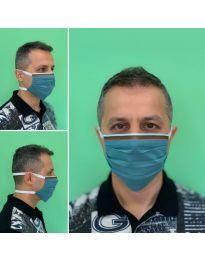 Mască - cod 015 - turcoaz