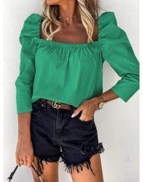 Bluza - cod 9906 - verde