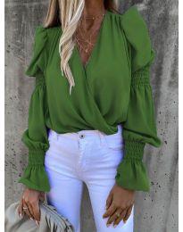 Bluza - cod 5451 - verde